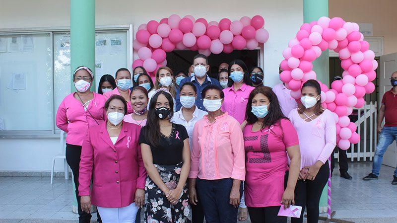 Alcaldía de Bonao realiza jornada de concienciación en el Día Mundial de la Lucha contra el Cáncer de Mama