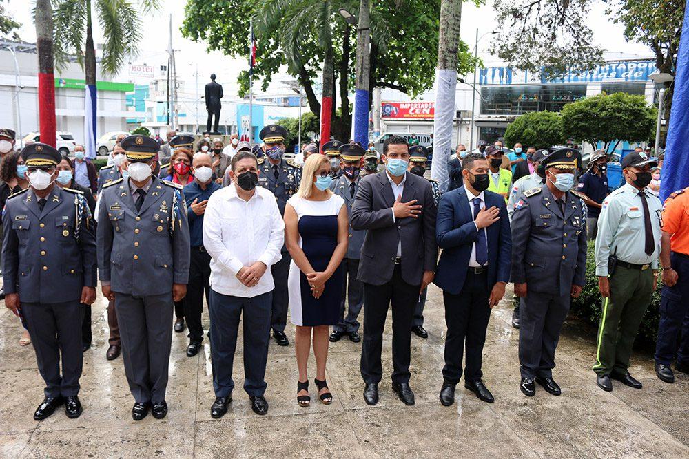 Alcalde Eberto Núñez encabeza actos de celebración 177 aniversario de la Independencia Nacional