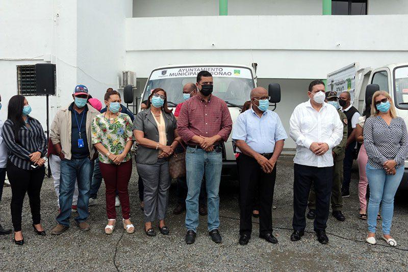 Ayuntamiento de Bonao compra nuevos camiones para mejorar servicio recogida de basura