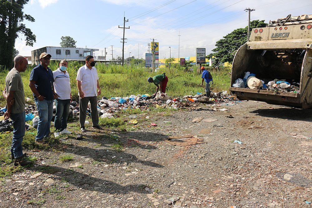 Alcalde Eberto Núñez encabeza jornada ampliada de recolección de desechos sólidos en ocasión del Día Nacional de la Limpieza